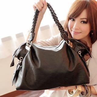 Woven Strap Hobo Bag
