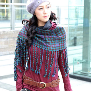 Picture of 19th Street Two-Tone Cowl-Neck Knit Top 1021736401 (19th Street Apparel, Womens Knits, China Apparel, China Knits)