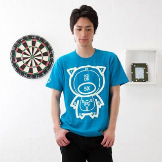 Picture of Buden Akindo Print Crewneck T-Shirt - Target Pig 1022414043 (Buden Akindo, Mens Tees, Japan)