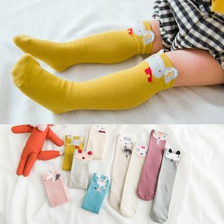 Image of Baby Animal Print Long Socks