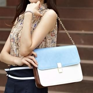 Buy Alice Room Color Blocked Flap Bag 1022982011