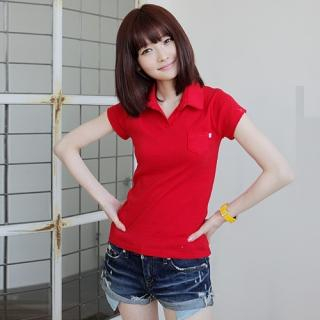 Picture of CLICK Polo Shirt 1022440646 (CLICK Tees, Womens Tees, South Korea Tees, Polo Shirts)