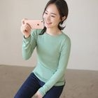Long-Sleeve Slim-Fit T-Shirt 1596