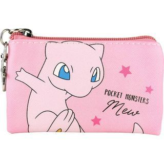 Pokemon Flat Coin Pouch (mew) One Size