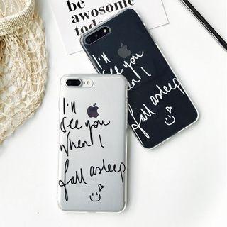 Lettering iPhone 6 / 6 Plus / 7 / 7 Plus Case 1058493709