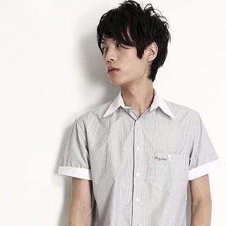 Buy SERUSH Striped Shirt 1022775691