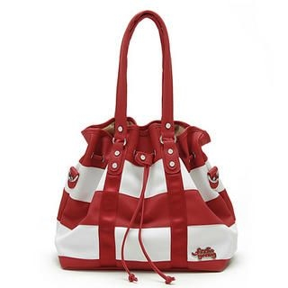 Buy Let's Fly Color-Block Handbag Red – One Size 1022302555