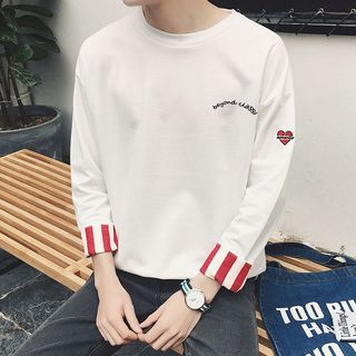 Image of 3/4-Sleeve Lettering Pullover