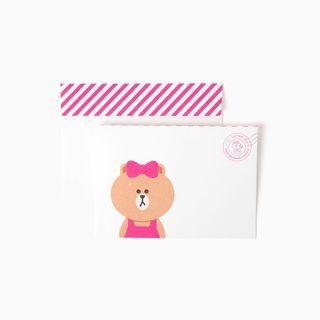 LINEFRIENDS - Set: Letter Paper + Envelope 1059559846