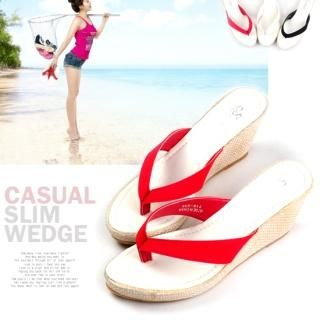 Buy Miz shoes Wedge Flip Flops 1022888158