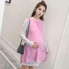 Maternity Set: Lace Dress + Knit Dress 1596