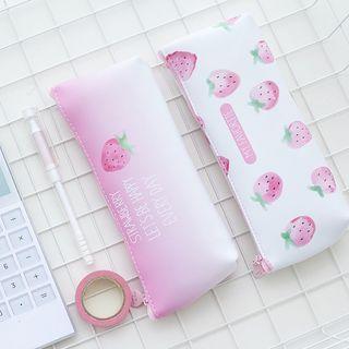 Strawberry Print Pencil Case 1060468575