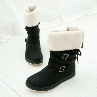 Picture of Cookie 7 Strap Boots 1021598833 (Boots, Cookie 7 Shoes, Korea Shoes, Womens Shoes, Womens Boots)