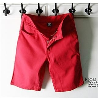 Picture of SERUSH Classic Cropped Pants 1022402107 (SERUSH, Mens Pants, Taiwan)