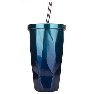 Stainless Steel Drinking Cup with Straw 1062238536