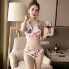 Set: Floral Bikini + Cover-up 1596