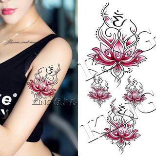 Flower Waterproof Temporary Tattoo