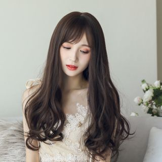 Image of Long Full Wig - Wavy With Care Solution Set - Chestnut - One Size