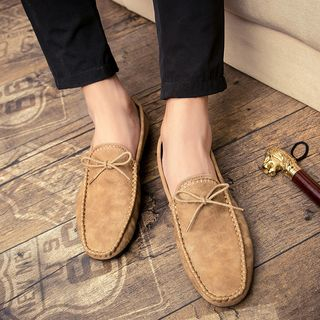 Image of Faux Leather Loafers