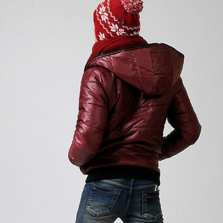 Picture of deepstyle Hooded Reversible Padded Jacket 1021643272 (deepstyle, Mens Outerwear, Korea)