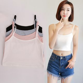 Cropped Camisole / Cropped Tank Top 1060443086