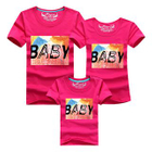 Family Matching Short-Sleeve Print T-Shirt Men - Sapphire Blue - XXL от YesStyle.com INT