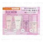 Kose - Lecheri Trial Kit 2 (High Moist): Oil In Cleansing Gel + Cream Wash + Lift Glow Lotion II + Lift Glow Emulsion II 4 pcs 1596