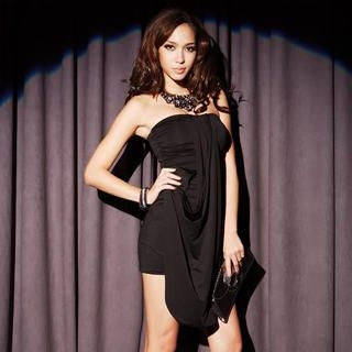 Picture of Joanne Kitten Strapless Draped Party Dress 1022567678 (Joanne Kitten Dresses, Womens Dresses, Taiwan Dresses, Cocktail & Party Dresses)