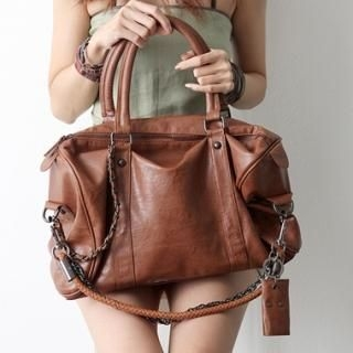 Buy HARU Faux-Leather Tote 1022990586