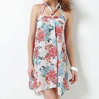 Set: Floral Bikini + Sundress 1045378558