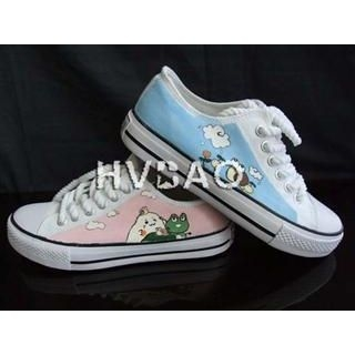 Buy HVBAO Snail and Frog Sneakers 1011413511