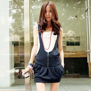 Picture of Ando Store Tulip Jumper Dress 1023018476 (Ando Store Dresses, Womens Dresses, China Dresses, Jumper Dresses)