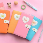 Heart Applique Notebook (S) 1596