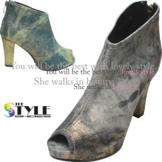 Picture of Woorisin Peep Toe Boots 1023002256 (Boots, Woorisin Shoes, Korea Shoes, Womens Shoes, Womens Boots)
