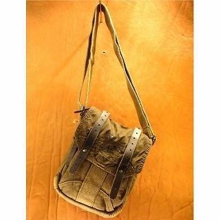 Picture of b3Labo Canvas Shoulder Bag Khaki - One Size 1014382514 (b3Labo, Shoulder Bags, Japan Bags, Mens Bags, Mens Shoulder Bags)