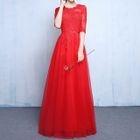 Elbow-Sleeve Evening Dress 1596