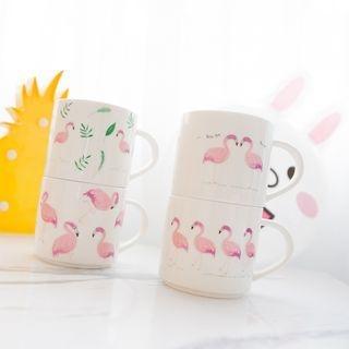 Flamingo Print Coffee Cup 1063404233