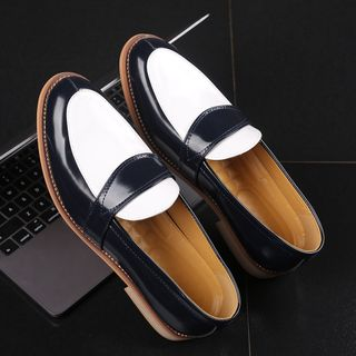 Image of Color Block Loafers
