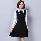 V-neck Sleeveless Dress 1596