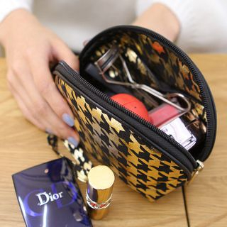 houndstooth-cosmetic-pouch