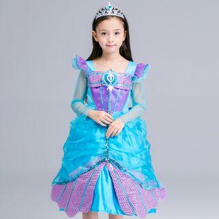 Long-sleeve | Princess | Costume | Dress | Kid