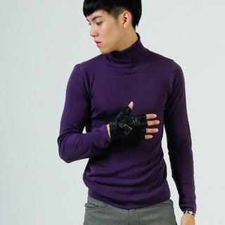 Buy deepstyle Turtleneck Knit Pullover 1021435444