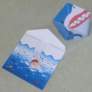 Paper Craft: Envelope Shark 1063214877