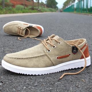 Color-Block Deck Shoes