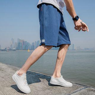 Image of Drawstring Summer Bench Shorts