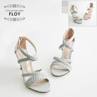 Buy FLOY SHOES Braided Strap Sandals 1023053967