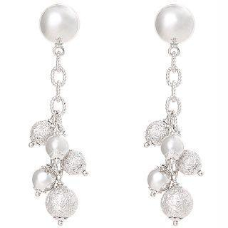 18K White Gold Earrings picture