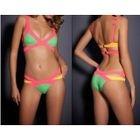 Color Block Cutout Bikini 1596