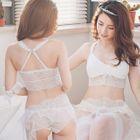 Set: Lace Wireless Bra + Panties 1596