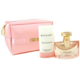 Buy Bvlgari – Rose Essentielle Coffret: Eau De Parfum Spray 50ml + Body Lotion 75ml + Pink Bag 2pcs+1bag